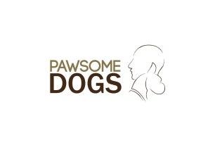 propuesta logotipo pawsome dogs