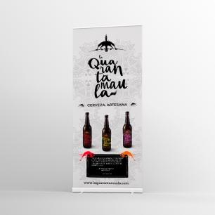 Roll-up cerveza Quarantamaula